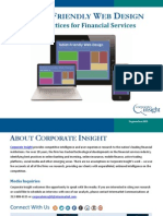 Tablet Friendly Web Design - Best Practices for Financial Services