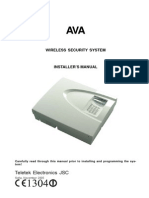 AVA Wireless Manual Installer ENG RevD