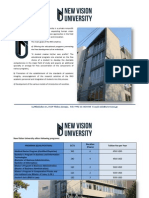 NVU Program Catalogue