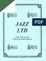 JAZZ LTD (500 Tunes Real Book Missed)
