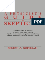 A Physicist's Guide to Skepticisim - Milton a. Rothman