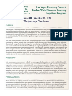 Inpatient Drug Addiction Treatment Program at Las Vegas Recovery Center - Phase 3
