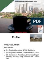 Eksplorasi Java 09012014