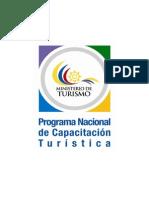 Pnct Programa Nacional de Capacitacion Turistica
