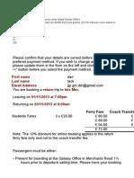 Design Itinerary