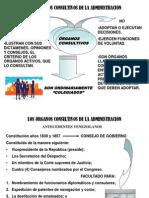 ÓRGANOS CONSULTIVOS DE LA ADMINISTRACIÓN