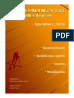 ASD Aspetti Fiscali e Gestione
