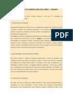 AS 10 ESTRATÉGIAS DE MANIPULAÇÃO PELA MÍDIA