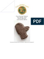 80671AD Family Mittens
