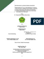 Halaman Pengesahan Laporan Kerja Praktek