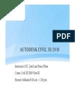Curso de Civil 3D Nivel 2