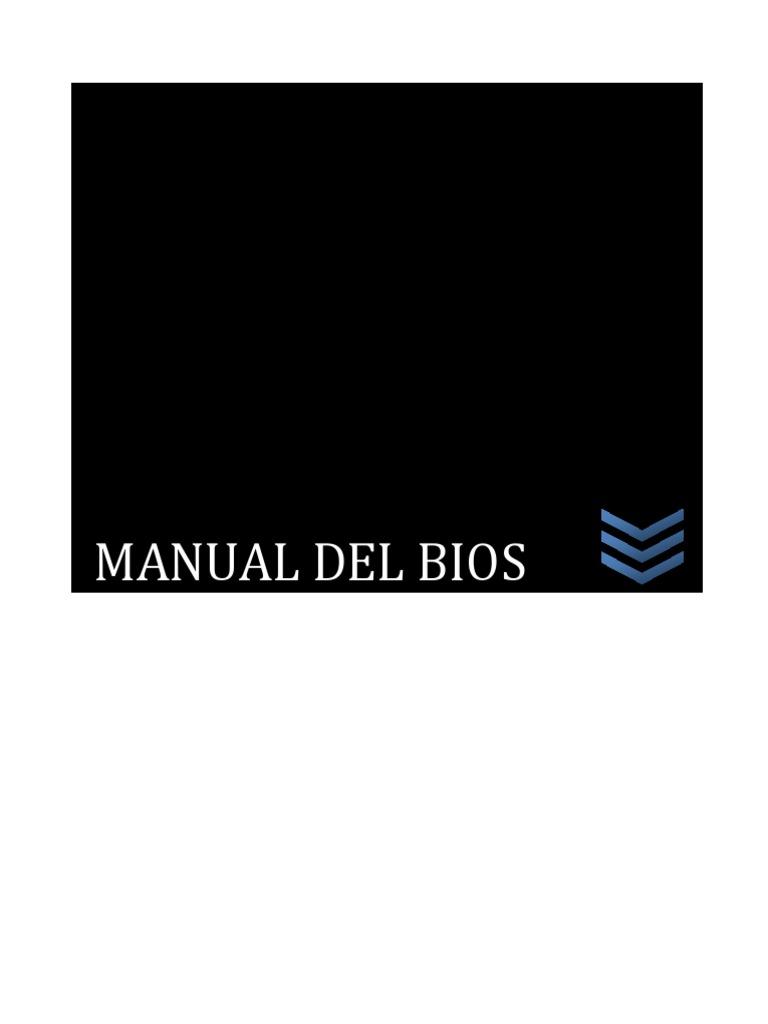 Manual Del BIOS