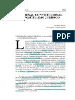 Tribunal Constitucional y Positivismo Jurídico (Luis Prieto Sanchís) RELEER