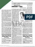 Daniel de Busturia- Negociación y crisis
