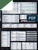 STAR WARS D20 - Saga Edition - Game Master's Screen