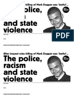 Police Racism and State Violence - SWSS Mtg template