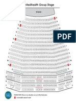 UnitedHealth Group Stage Seating Chart
