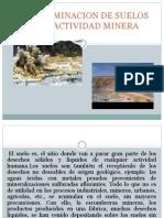Contaminacion de Suelos Por Actividad Minera