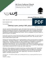 LOG Jan & Feb 2014