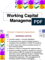 Working Capital Management ppt