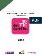 Protocolo Conferencias en Tic Confio 2013 v4