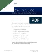 Enabling Enterprise Change Management
