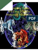 Shangqing Taoist Wu Zang 5 Spirits Protection Meditation