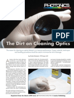 Cvi Manual on Cleaning Optics
