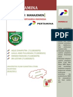 Makalah Pengantar Manajemen Pt Pertamina