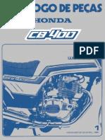 CB 400 1980 - 1981