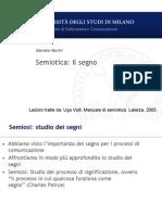 Semiotica Segno
