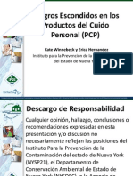 Personal Care Products Spanish June 2012