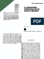 Franco José Luciano_La diaspora africana en el nuevo mundo