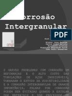 Corrosão intergranular