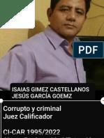 Homicidio Doloso Automovilistico en Tenosique, Tabasco por GUADALUPE PEREZ MARTINEZ y encubierta por Juez Penal IVAN TRIANO GOMEZ