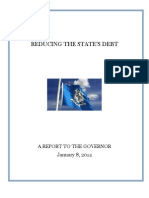 Connecticut 2014.01.09 Opm Debt Reduction Report