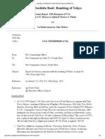 1942-4-18 CV-6 USS Enterprise Action Report, Halsey- Doolittle Raid