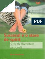succesul e o stare de spirit
