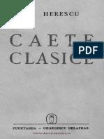 Caete Clasice