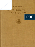 Forbes 1950 Metallurgy in Antiquity