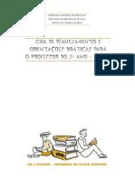 GuiaPlanejamento OrientacoesDidaticas Professor 3Ano CicloI Completo