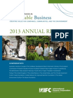 IFC Advisory Services in Sustainable Business