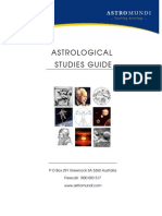 Astrological Studies Guide 2009