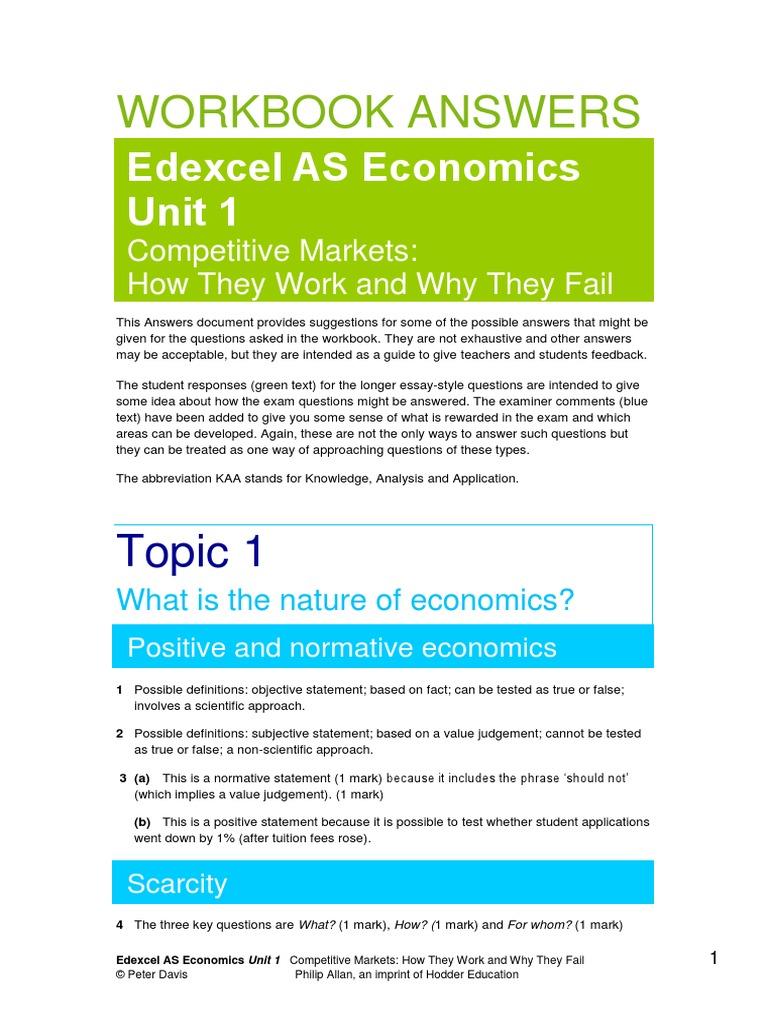 edexcel economics unit 4 essay questions Predicting a-level exam questions aqa unit 4 - european case study ocr, edexcel, aqa as-level revision guide - £450.