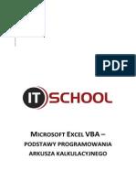 Microsoft Excel Vba Podstawy Programowania Arkusza Kalkulacyjnego