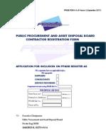 PPADB Contractor Registration Form8 Version2 150911