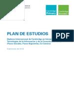 PLAN ESTUDIOS IGCSE