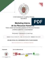 Marketing Interno de los Recursos Humanos