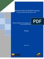 Observatorio de Competitividad Colombia 2012