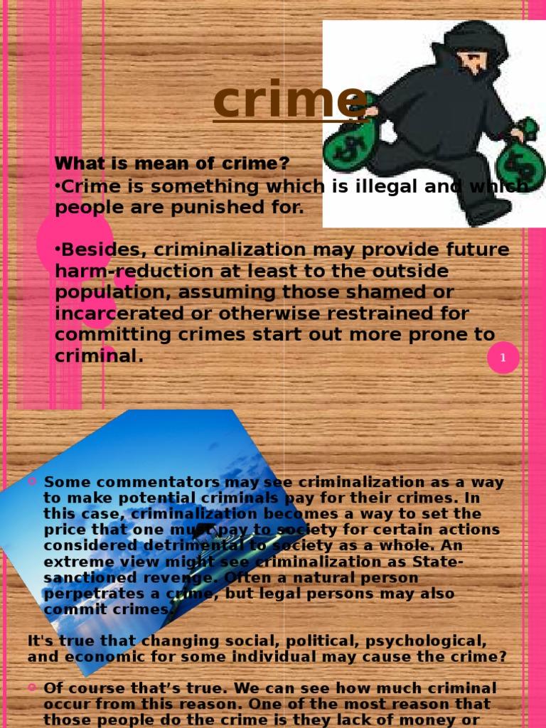 Crime | Crimes | Crime & Justice